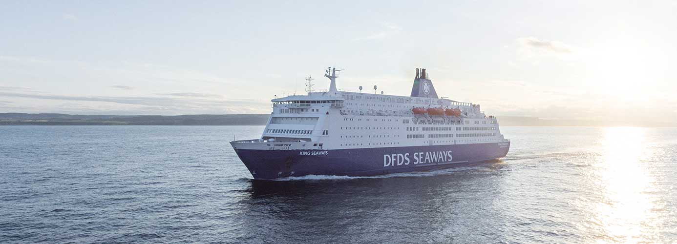 DFDS Ferry to Amsterdam