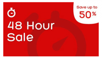 48 Hour Flash Sale, Save up to 50% off hotels